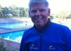 Personaltrainer & Triathlet Mario Muhren beim ELE Triathlon 2012