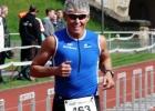 Triathlet und Personaltrainer Mario Muhren beim ELE Triathlon 2012