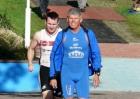 Startvorbereitung Mario Muhren ELE Triathlon 2012