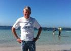 Salzwasser testen beim IM 70.3 Mallorca 2013