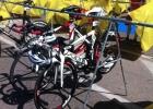 Räder CheckIN beim IM 70.3 Mallorca 2013