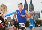 Mario Muhren CTW Köln Triathlon 2010: Zieleinlauf