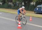 Personal Trainer Mario Muhren beim Bayer Triathlon