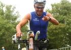 Triathlet Mario Muhren beim Krefelder Bayer Triathlon 2011