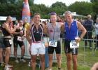 Personal Trainer Mario Muhren wird 3. beim Bayer Triathlon 2011
