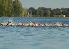 Schwimmdistanz beim Krefelder Bayer Triathlon 2011