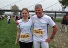 Muhren Familienstaffel beim Metro Marathon Düsseldorf 2012