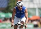 Triathlet Mario Muhren bei der Raddistanz in Roth 2010