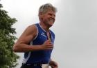 Triathlet Mario Muhren beim 7. Kanaltriathlon Voerde
