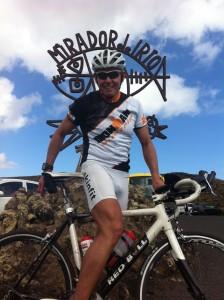 Mirador Biketour Triathlet Mario Muhren